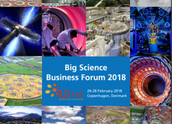 Big Science Business Forum in Copenhagen